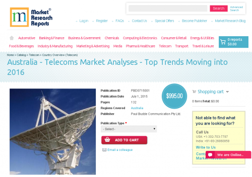 Australia - Telecoms Market Analyses - Top Trends Moving'