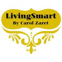 LivingSmartByCarolZart.com Logo