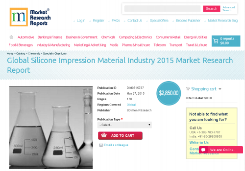 Global Silicone Impression Material Industry 2015'