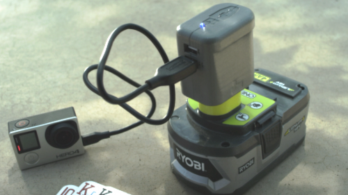 USBeast: Power all things USB with your Ryobi tool batteries'