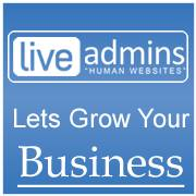Company Logo For LiveAdmins'