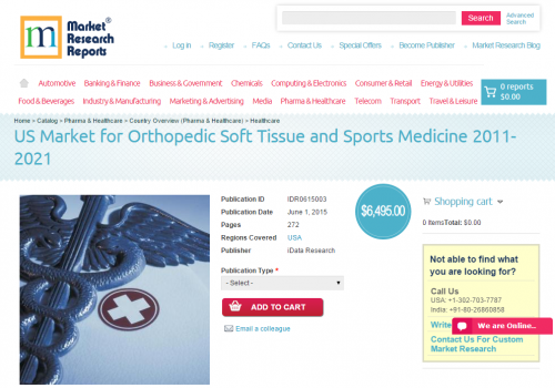 US Market for Orthopedic Soft Tissue and Sports Medicine'