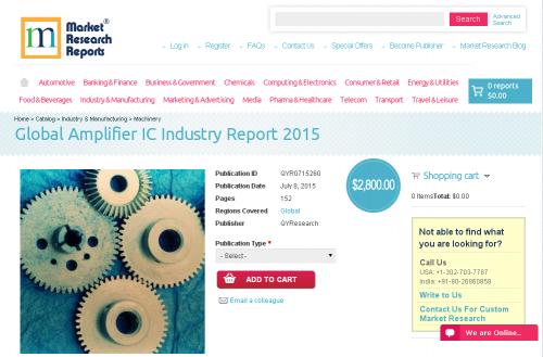 Global Amplifier IC Industry Report 2015'