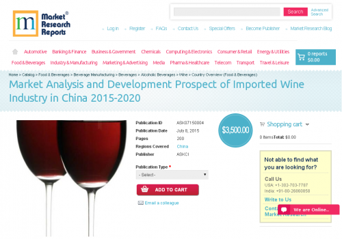 Market Analysis and Development Prospect of Imported Wine'