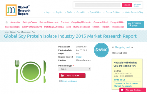 Global Soy Protein Isolate Industry 2015'
