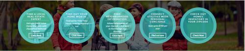 ZipandFind Homepage Snapshot'