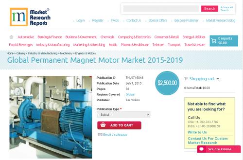 Global Permanent Magnet Motor Market 2015-2019'