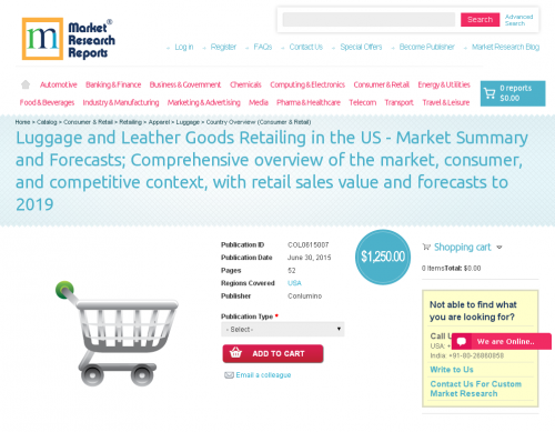 Luggage and Leather Goods Retailing in the US'