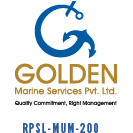 Golden Marine Services Pvt. Ltd. Logo