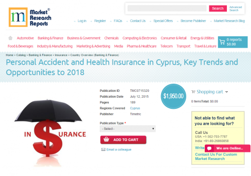 Personal Accident and Health Insurance in Cyprus'