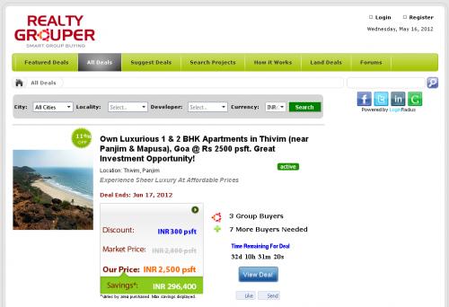 RealtyGrouper.com - Deals'
