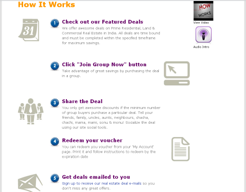 RealtyGrouper.com - How it Works'