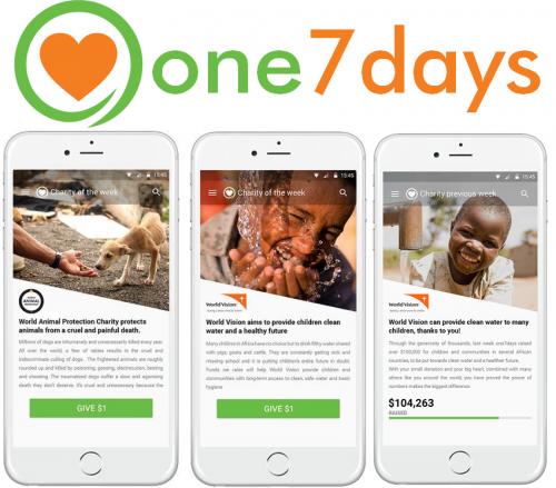 one7days Charitable App'