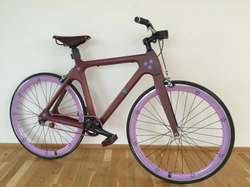 Wooden Bike'