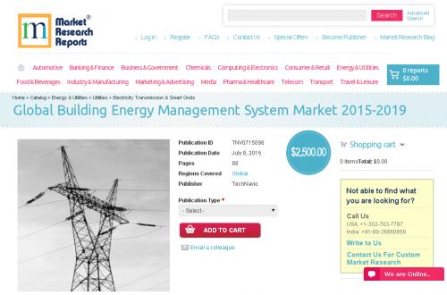 Global Building Energy Management System Market 2015-2019'