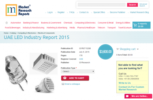 UAE LED Industry Report 2015'