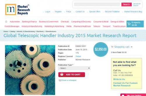 Global Telescopic Handler Industry 2015'