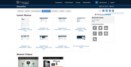 MediaWire by ReleaseWire - Company Profiles'