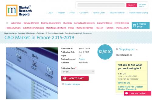 CAD Market in France 2015-2019'