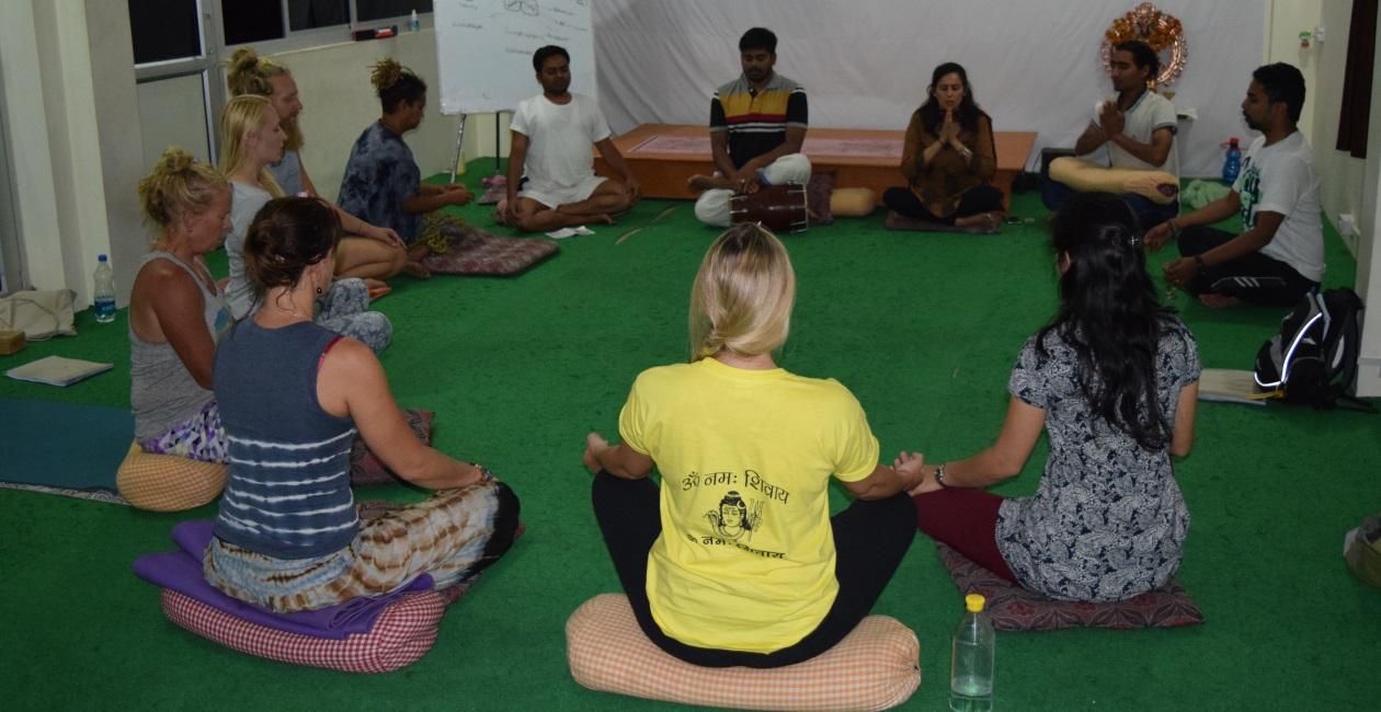 Yoga School in India-Photos