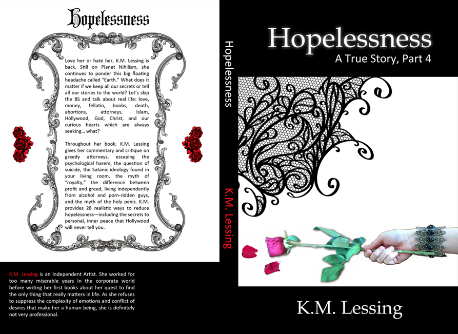 New book by K.M. Lessing, Hopelessness