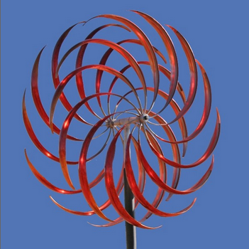 Kinetic Wind Sculpture at Mark White Fine Art'