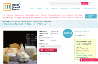 Cheese Market in the US 2015-2019