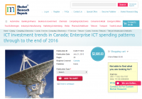 ICT investment trends in Canada