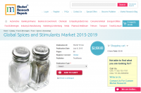 Global Spices and Stimulants Market 2015-2019