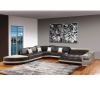 Modern Leather Sectional Sofa'