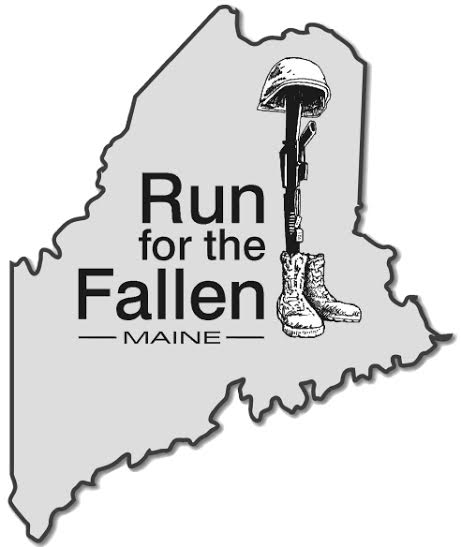 Run for the Fallen Maine Logo