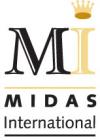 Logo for Midas International'