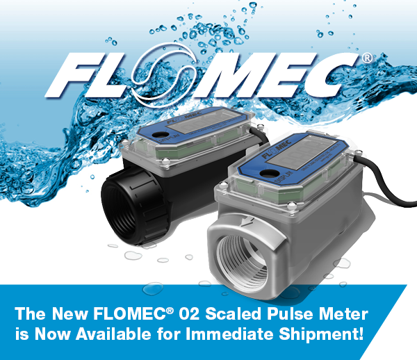 FLOMEC® 02 SCALED PULSE METER