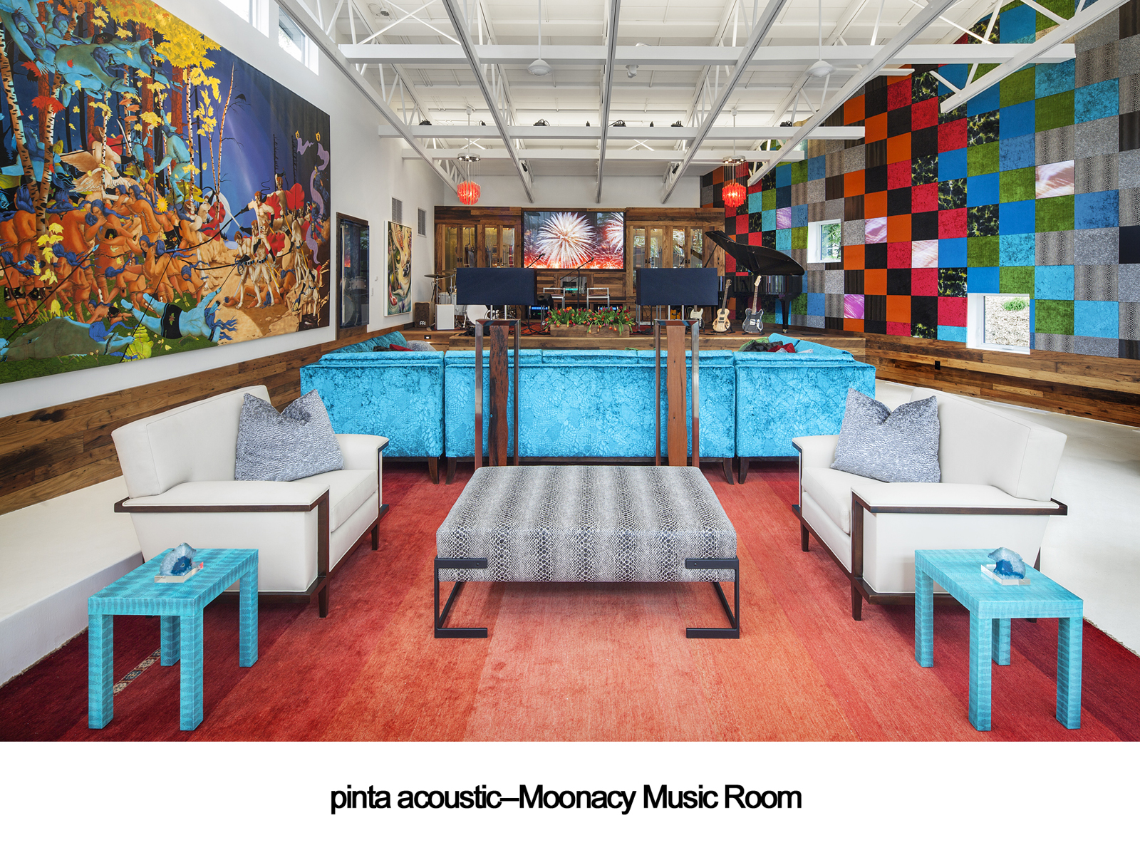 pinta acoustic, inc.--Moonacy Music Room, Stage