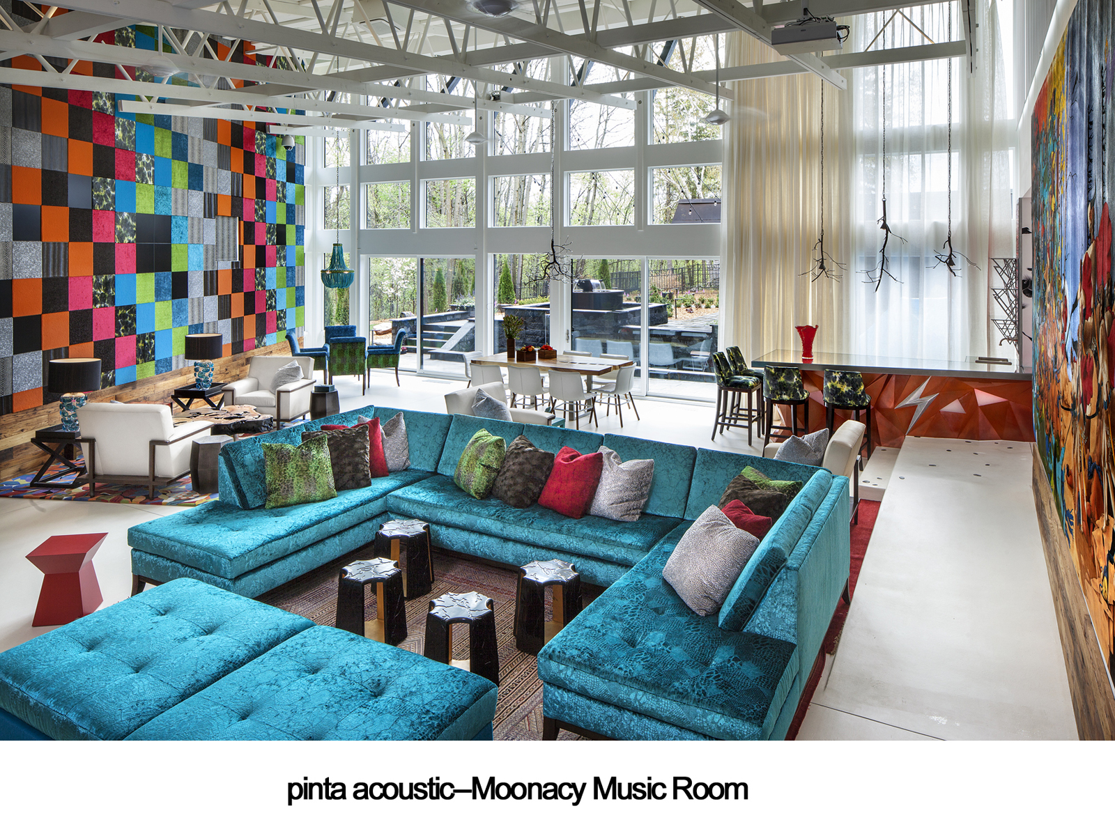 pinta acoustic, inc.--Moonacy Music Room, Windows