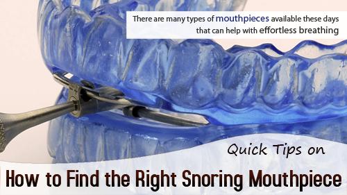 Anti Snoring Devices'
