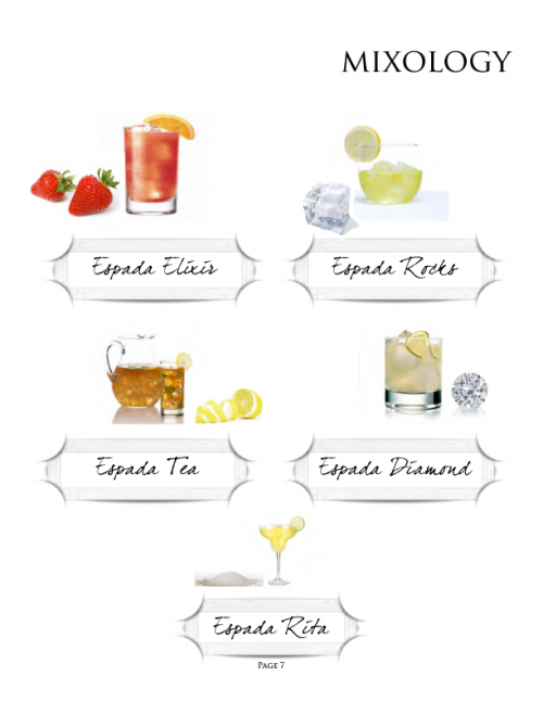 Espada Cocktails'