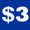Logo for Dollar3'