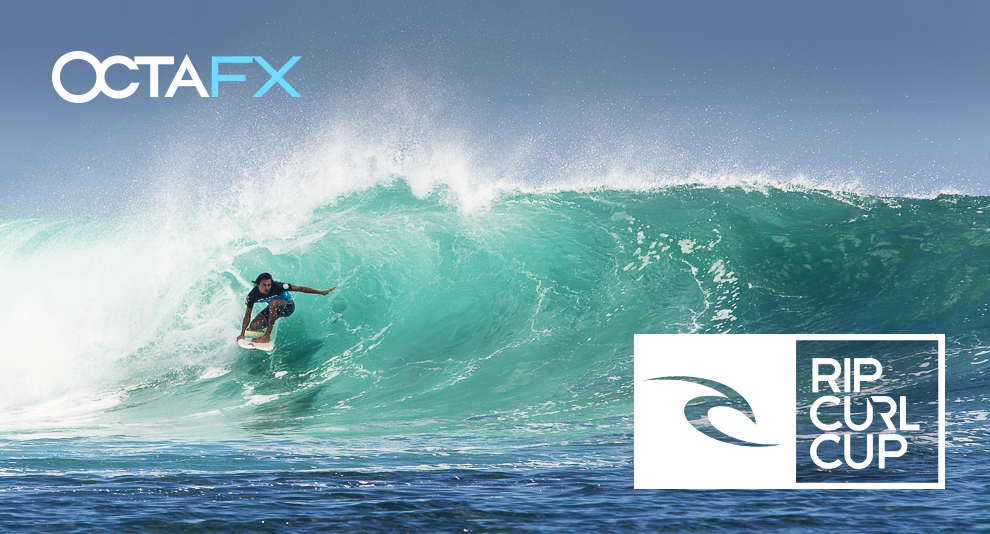 OctaFX becomes an official sponsor of the 2015 Rip Curl Cup