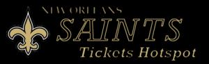 Saints Tickets Hotspot'