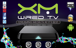 xmWIREDTV Media Streamer