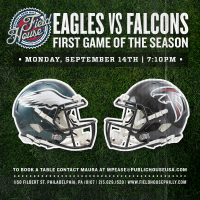 Eagles Vs. Falcons Sept. 14 2015 At 7:10 PM