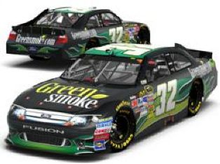 Green Smoke sponsoring in NASCAR Sprint Cup Series'