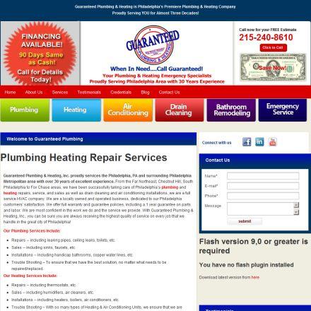Guaranteed Plumbing & Heating'