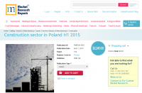 Construction sector in Poland H1 2015