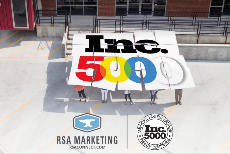 RSA Marketing Services Lands In Top Half of 2015 Inc. 5000 R