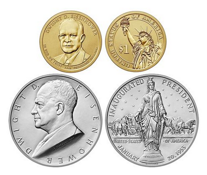 Eisenhower 2015 Coin & Chronicles Set
