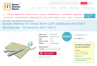 Europe Markets for Dental Bone Graft Substitutes and Other