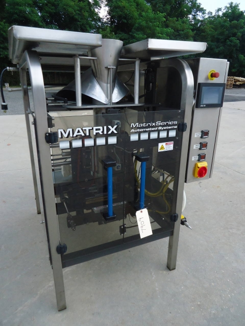 Matrix 916 Vertical Form/Fill/Seal Machine