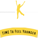 JustinTimeToFeelYounger.com Logo